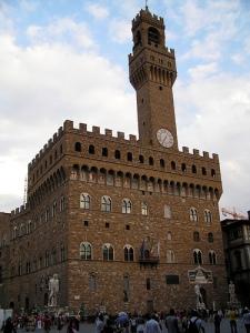 Palazzo Vecchio. Piazza della Signoria. Florencia