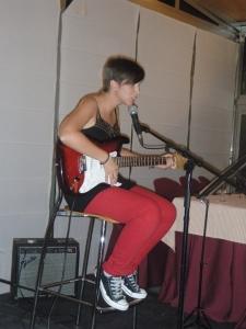 Claudia Marán actuación
