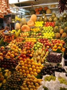 Mercado Verduras Barcelona
