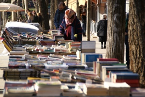 Libros en la calle