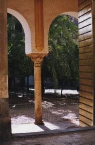 Entrada Patio Naranjos Córdoba. Textualizador