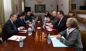 Un momento de la reunión entre las entidades de gestión y el SEC. © Javier Martínez (MECD)